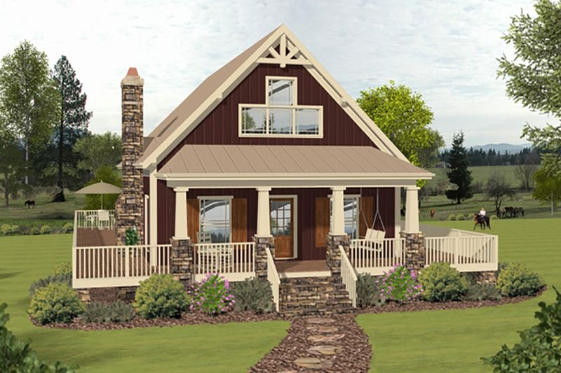 Cottage Style House Plan 3 Beds 2 Baths 1592 Sq Ft Plan 56 625 Cottage Style House Plans Cottage House Plans Cottage Style Homes