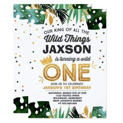 Wild one birthday invitation wild things birthday boy gifts gift wild one birthday invitation wild things birthday boy gifts gift ideas diy unique boy gifts pinterest wild things birthday boys and birthdays stopboris Image collections