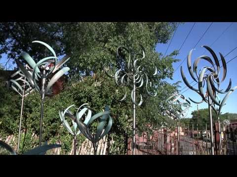 Kinetic Garden Wind Spinners | Solutions.com - YouTube | Home decor ...