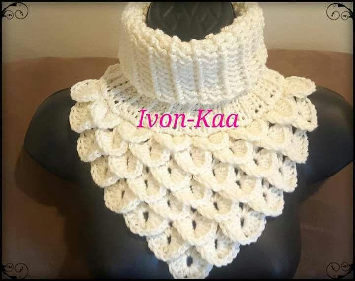 Pin de Stacy Cashio en Crochet-Scarves, Shawls, Hats, Gloves & Cuffs ...