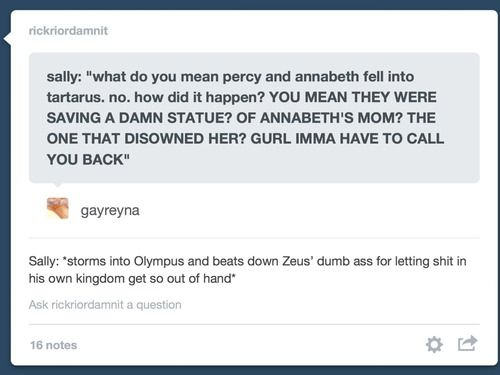 If Sally Jackson got her own POV in House of Hades  | Don't
