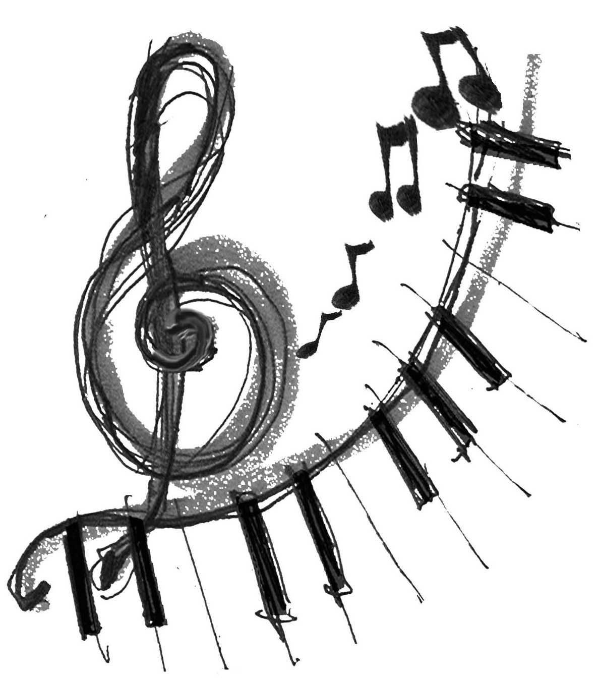 Viewing Gallery For Cool Music Note Drawing Music Notes Music