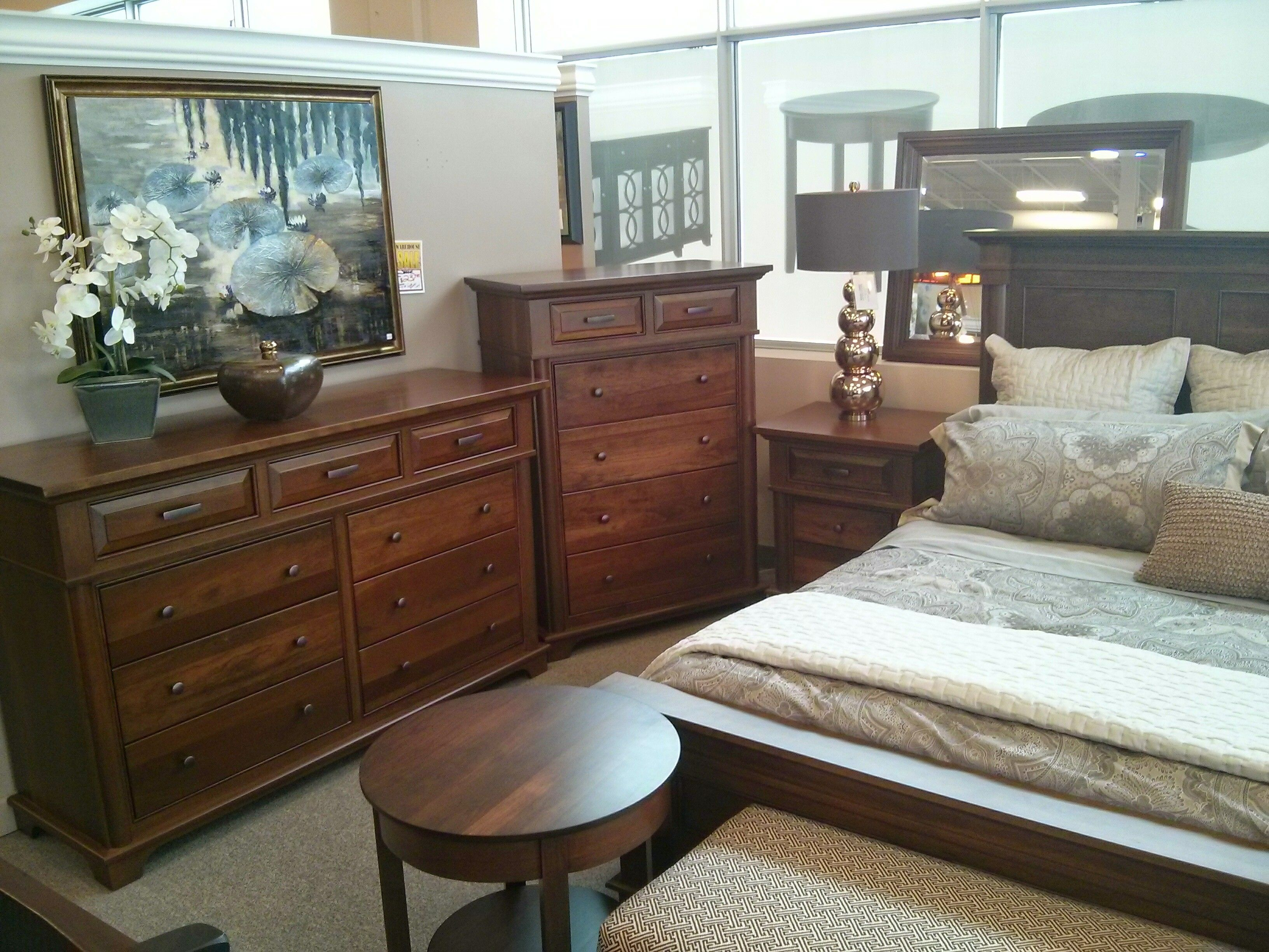 The Lindenhurst Bedroom collection.