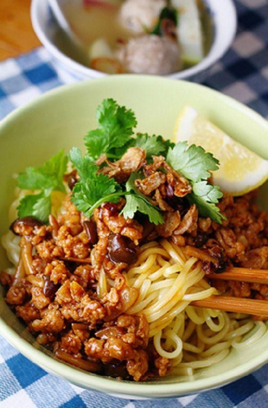 Sajian Sedap Mie Ayam Enak Dan Spesial Makan Malam Resep Masakan Makanan Dan Minuman