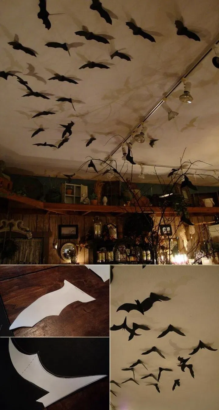 30+ Casual Halloween Decorations Ideas That Are So Scary #halloweendecorideas #h…