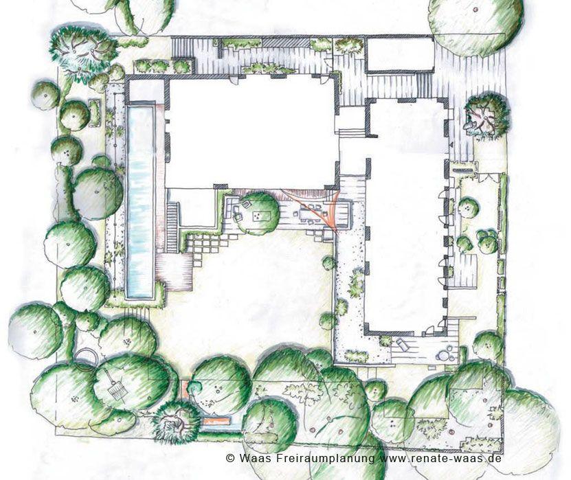 Gartenplanung, Gartendesign und Gartengestaltung: Garten modern ...