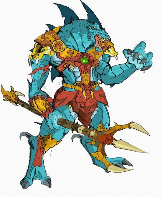 He-Man Villain: Fang Man   Masters of the Universe: Evil