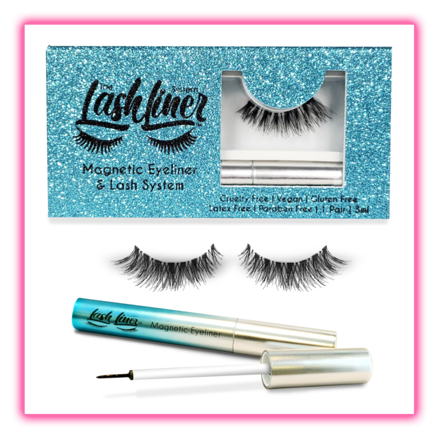 bb6ba0f0b6a Magnetic eye liner and lashes. This is our glamorous