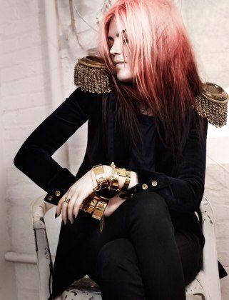 Alison Mosshart stars in Eddie Fall 2012 campaign