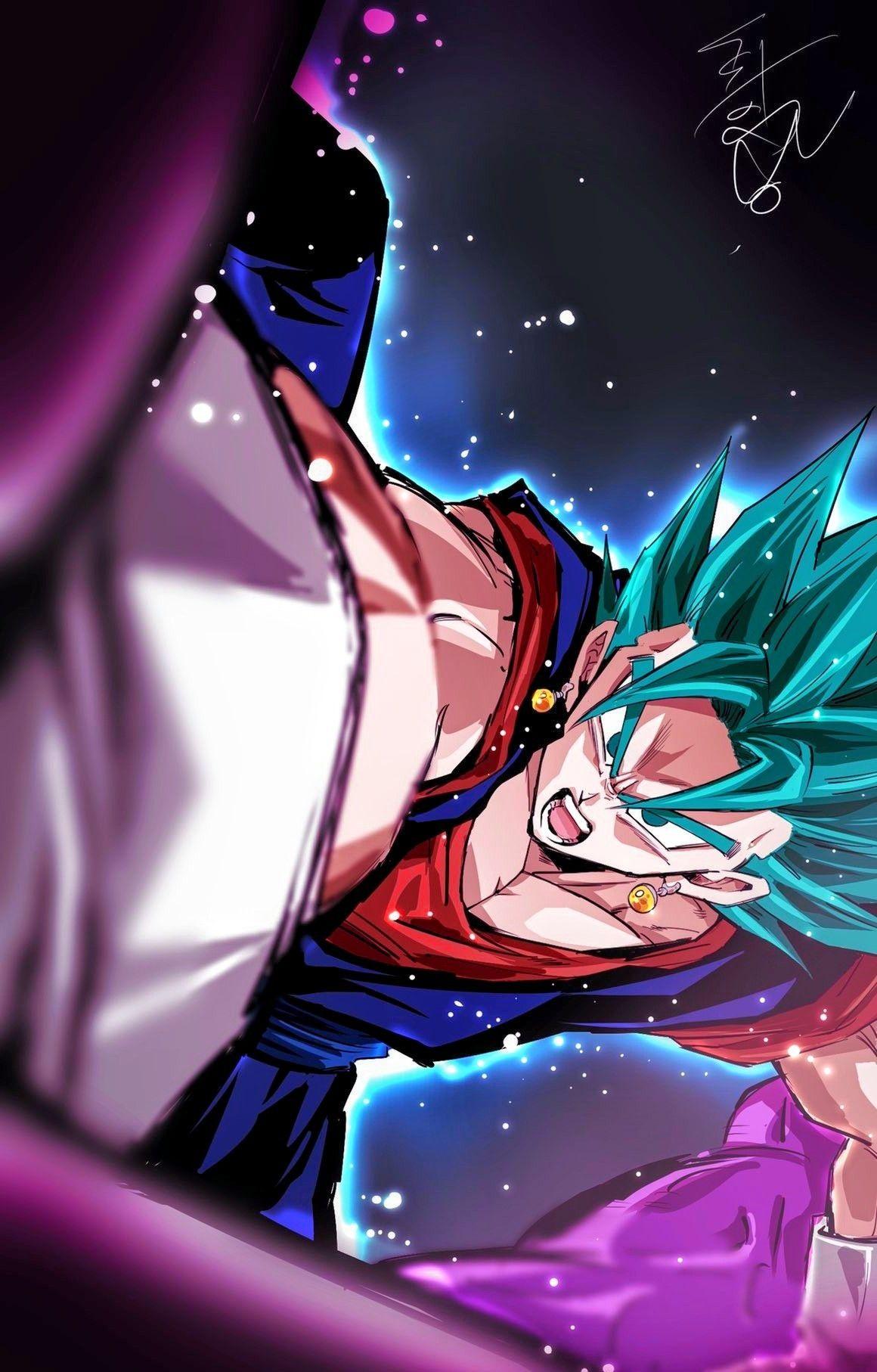 Vegito Vs Zamasu Anime Dragon Ball Super Dragon Ball Artwork Dragon Ball Super Goku