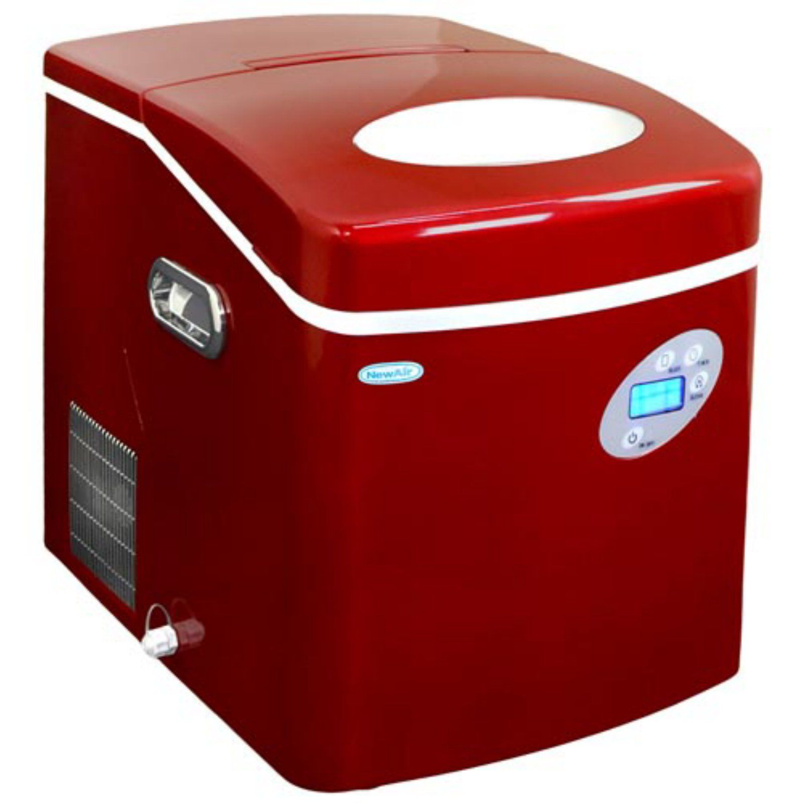Newair Ai 215r Portable Ice Maker Kitchenaid Ice Maker Nugget