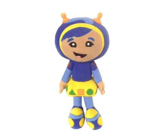 Blue And Yellow Geo From The Animated Film Team Umizoomi