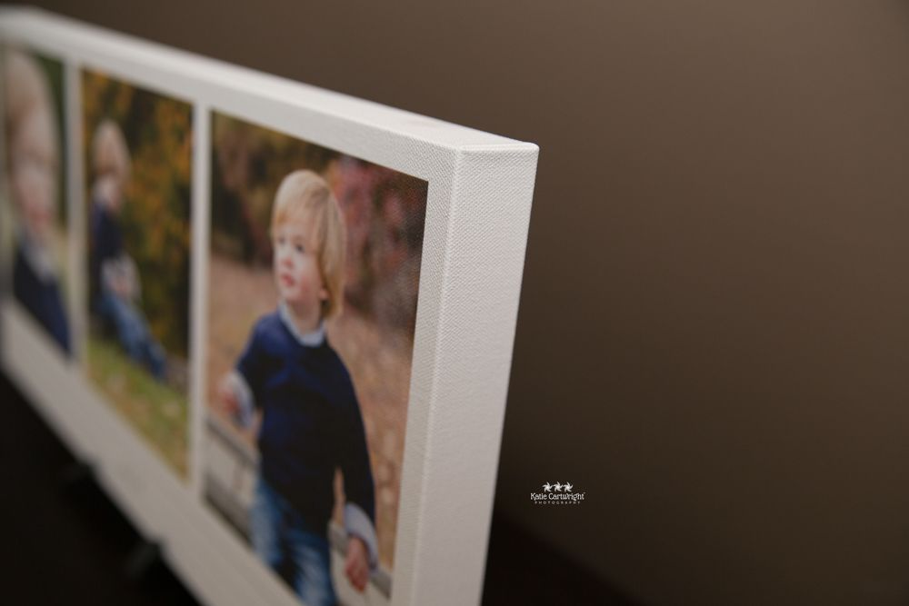 Custom Canvas Storyboard Corners - Katie Cartwright Photography