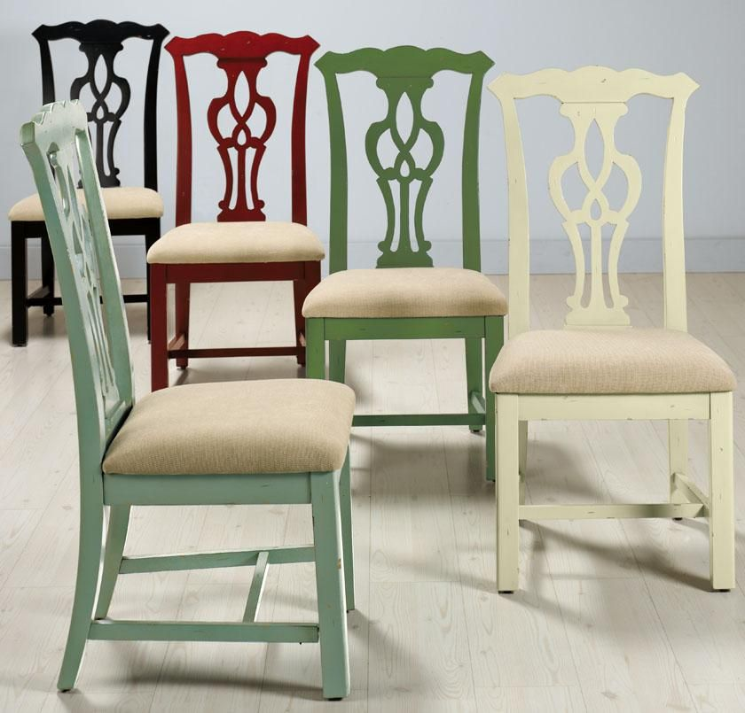 Chippendale Dining Room Chairs: Chippendale-Style Side Chair