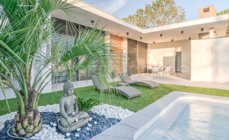 Maison Grau du Roi  une maison Moderne conçue par l\u0027architecte - Plan Maison Moderne  Chambres