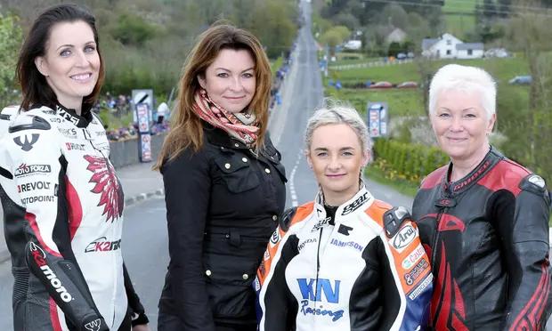 Meet the three women motorbike riders racing the wilds of Ulster | Suzi Perry