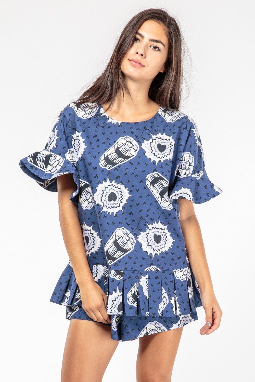 Neneh Cherry Playsuit - Superette | Your Fashion Destination.