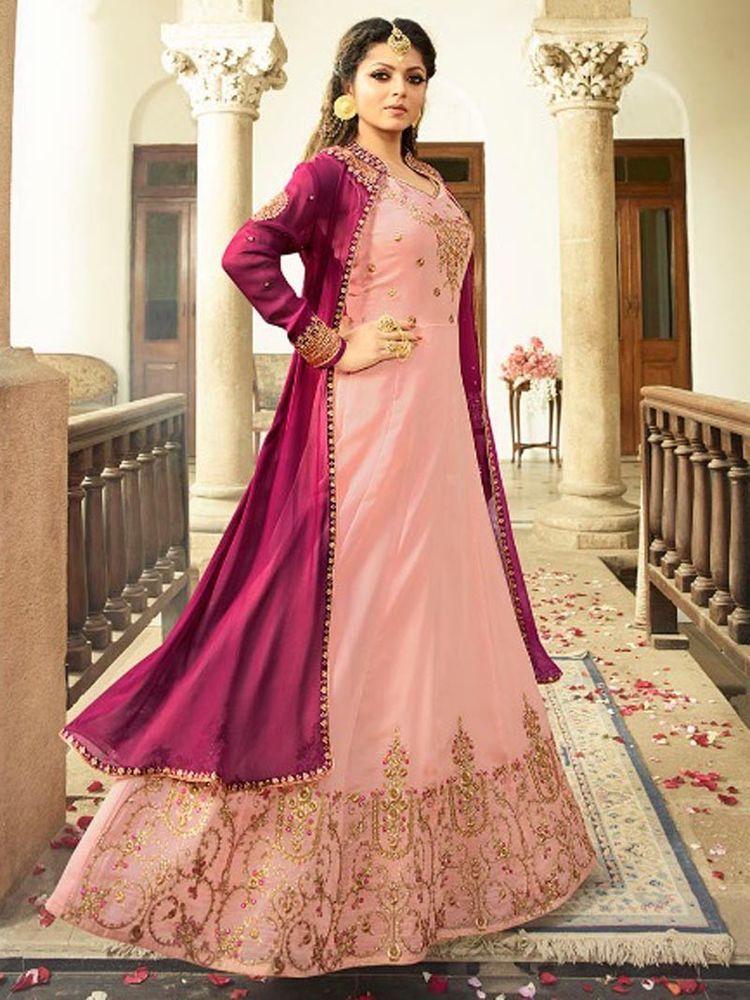 dd2db0df978  ethnic  Indian  Party wear  Bridal  Floor Length  Pakistani  Anarkali for   Asian  Women  Shoppingover  SalwarKameez