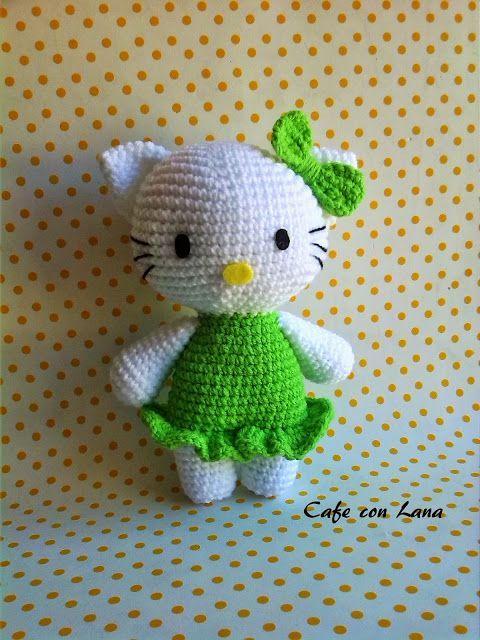 Hello Kitty Amigurumi - Patrón Gratis en Español - Click aquí para ...