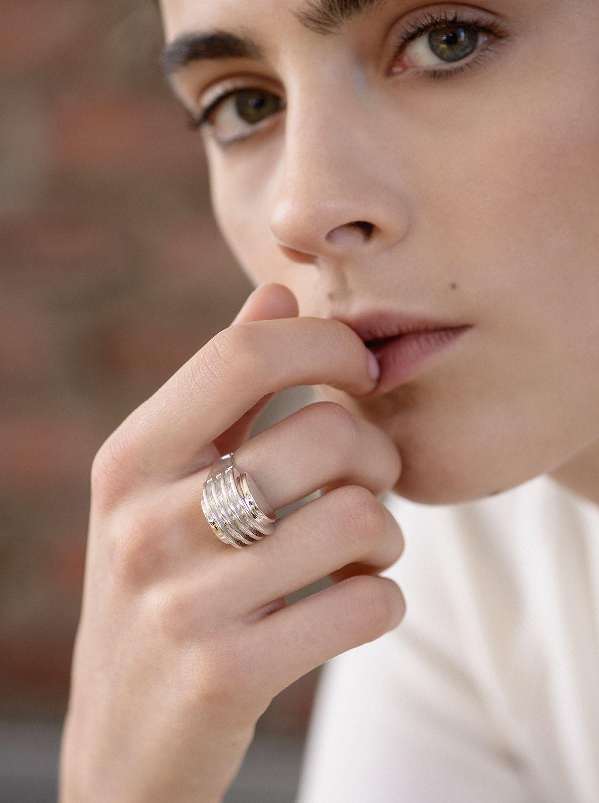 AGMES a new architectureinspired jewelry line  Jewelry u Fashion