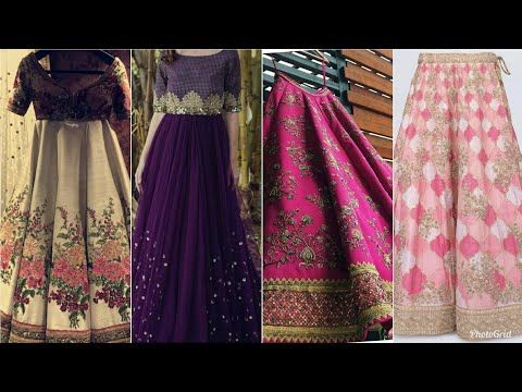 067afa322a9f top designer skirt sharara lehenga function wear sharara party wear  designer dress for women 2019 - YouTube