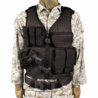 Blackhawk Omega Elite Vest Cross Draw @ TacticalGear.com