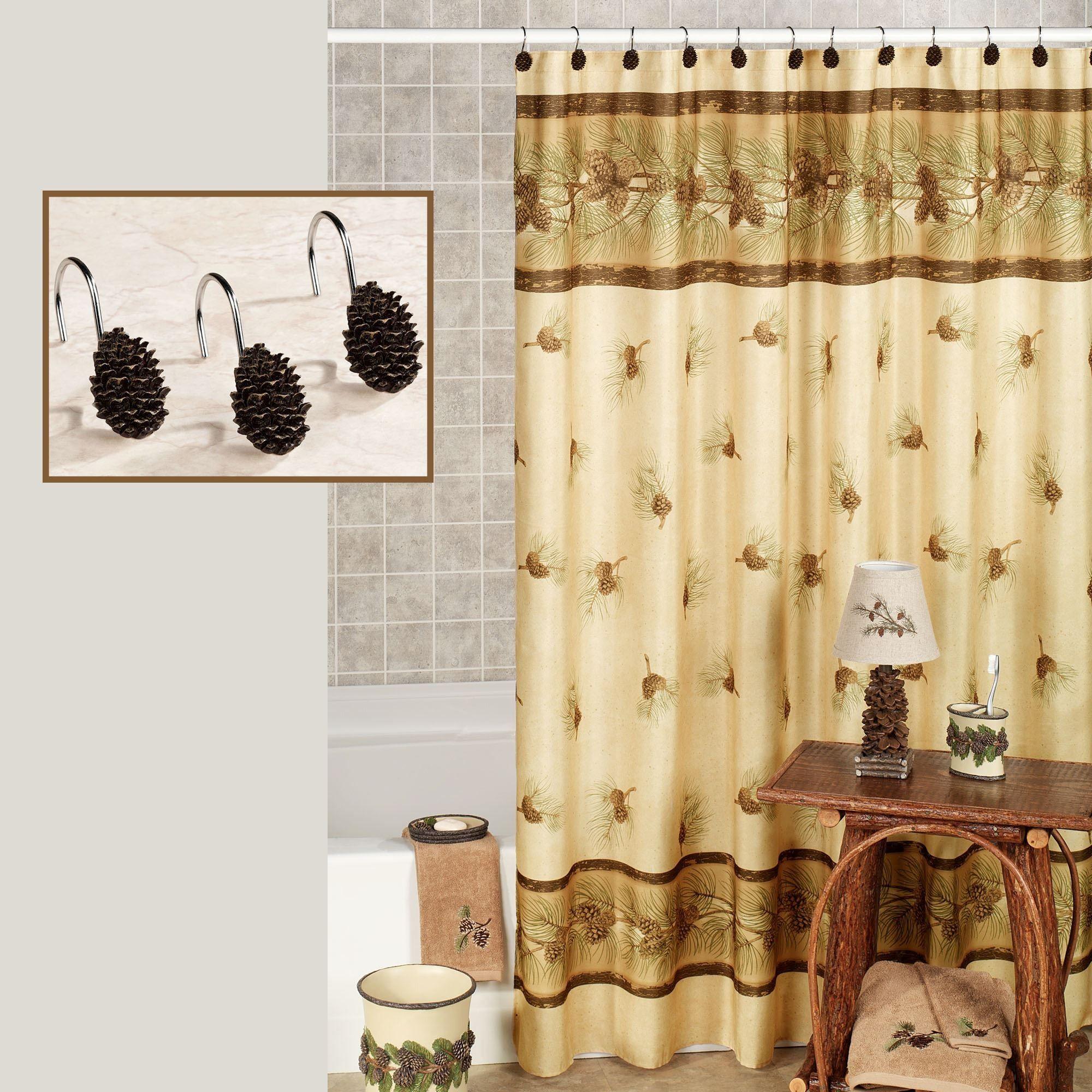 New Moose Lodge Shower Curtain Dengan Gambar