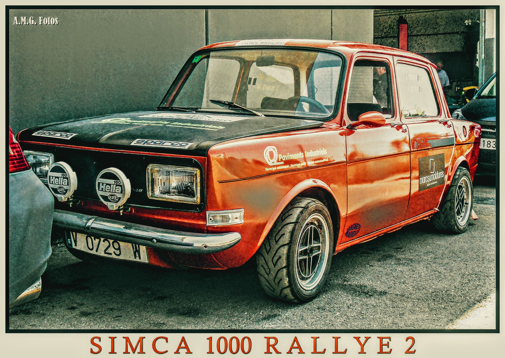 Simca 1000 Rallye 2 1978 Karting Suv Car Amg