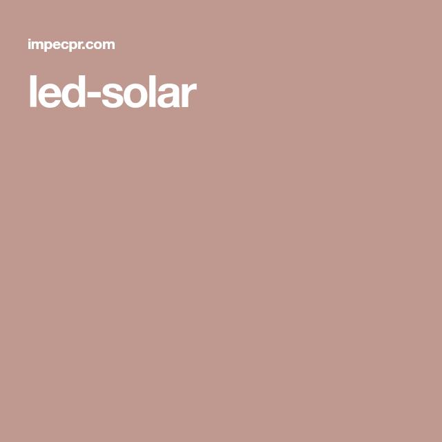 Led Solar Venta De Lamparas Material Electrico Bombillas