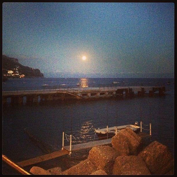 Perigeo lunare in Costiera Amalfitana