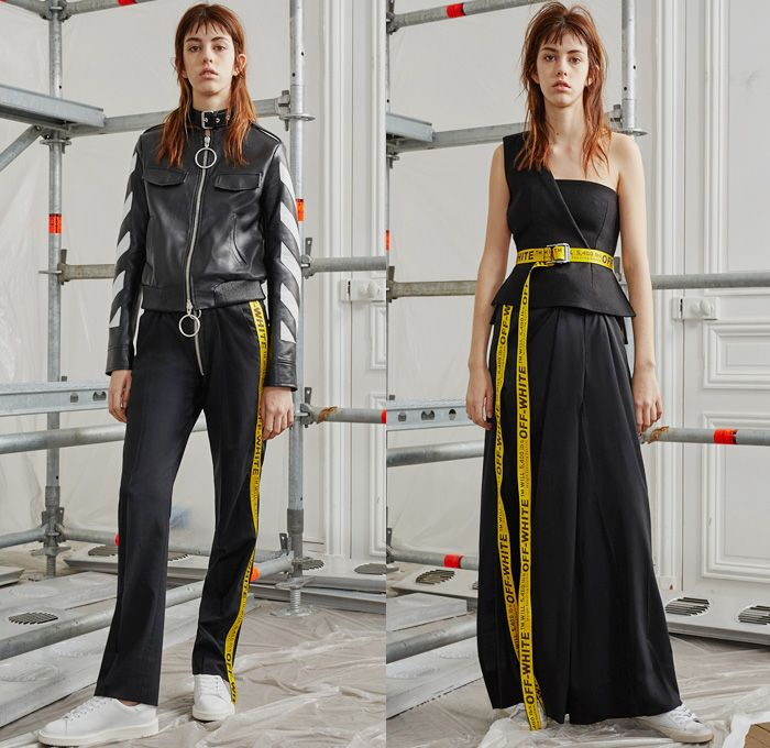 157cb66d38fb Off-White by Virgil Abloh 2016 Pre Fall Autumn Womens Lookbook Presentation  - Patchwork Lace