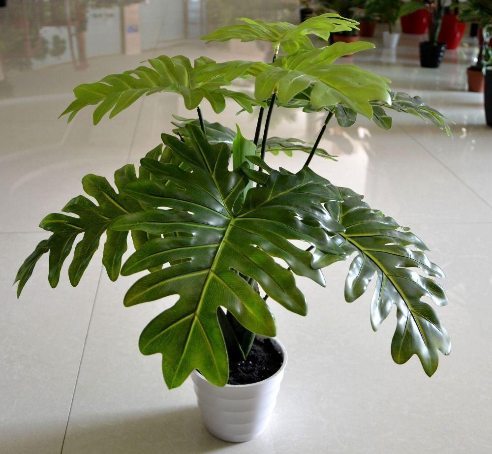 Nursery Indoor Plants Near Me: Cheap Artificial Indoor Plants Leaf