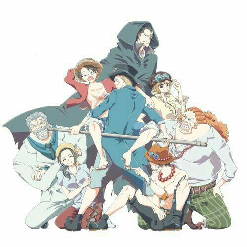 Ace, Sabo, Luffy, brothers, Garp, Dragon, Koala, Dadan