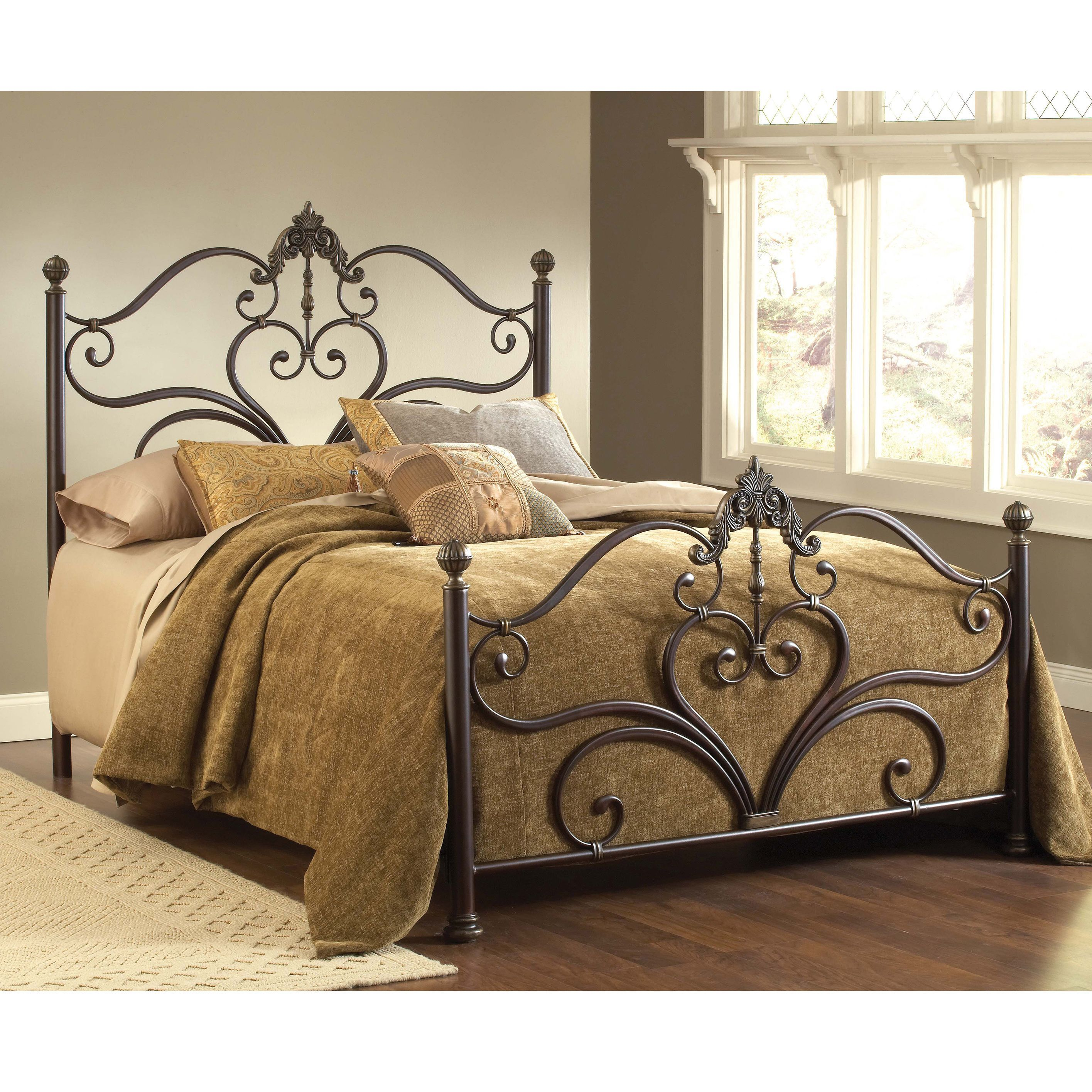 Newton Antique Brown Bed Set - 16404367 - Overstock.com Shopping ...