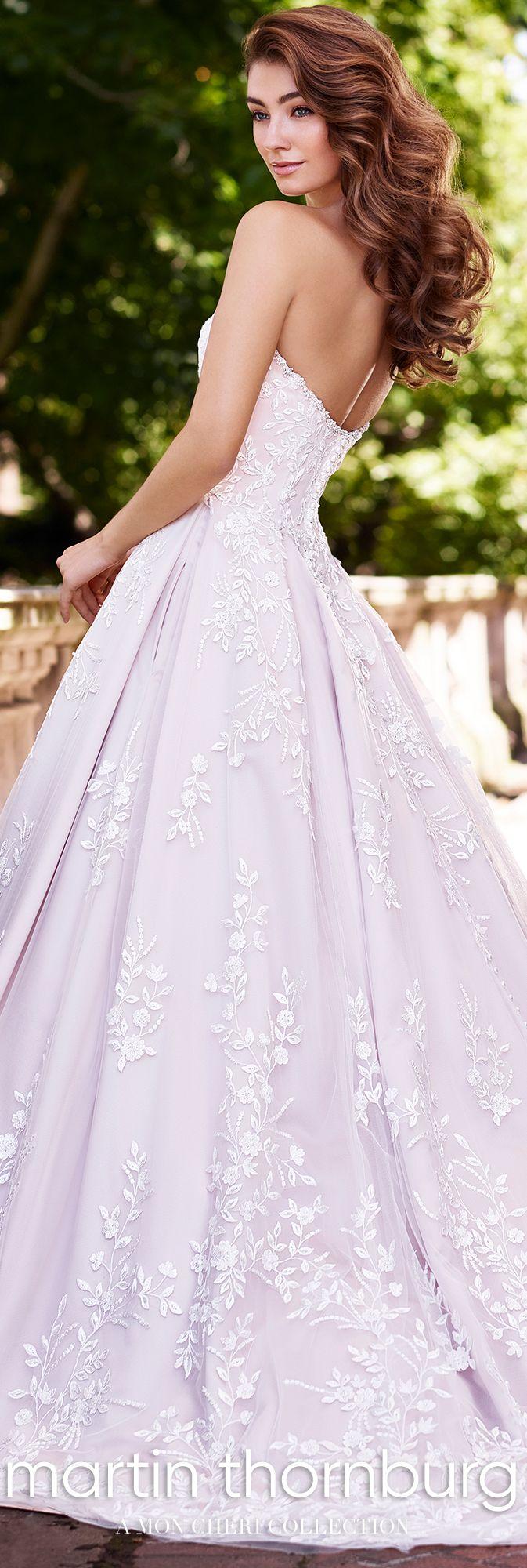 c2f046c7 119252 Hannah - Lace Satin Wedding Dress w Pockets - Mon Cheri ...