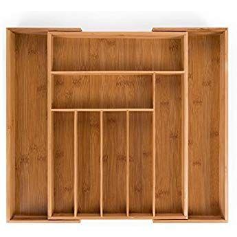 Blumtal Besteckkasten Holz Besteckeinsatz Fur Schubladen