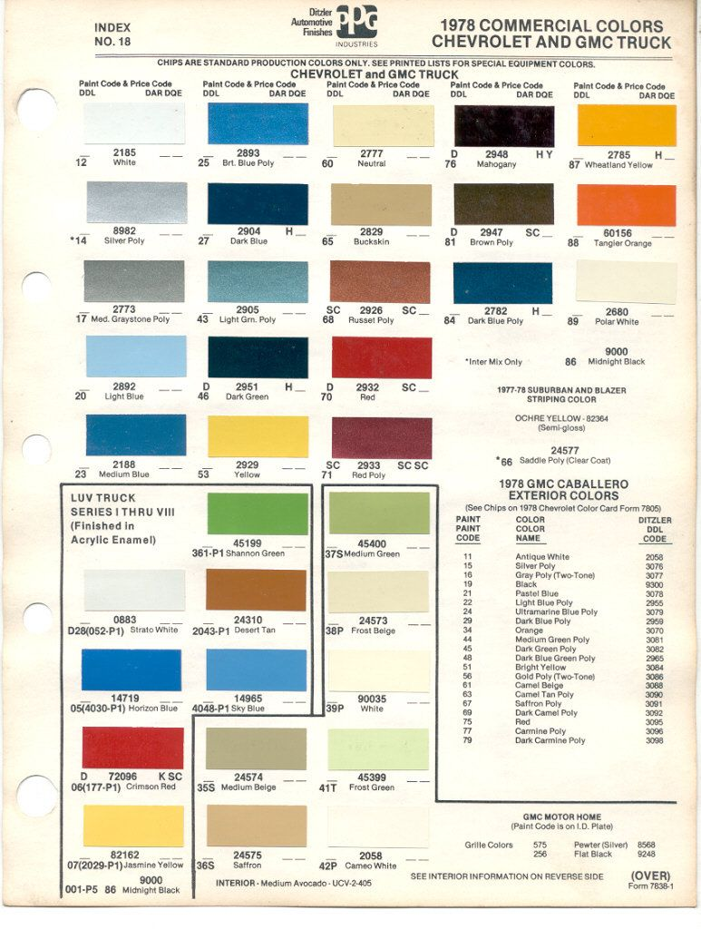 Paint chips 1978 gmc chevy truck chevy pinterest paint chips paint chips 1978 gmc chevy truck nvjuhfo Choice Image