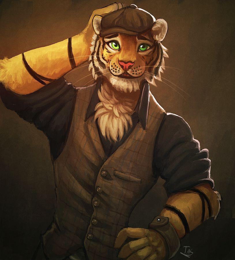 Gay tiger yiff