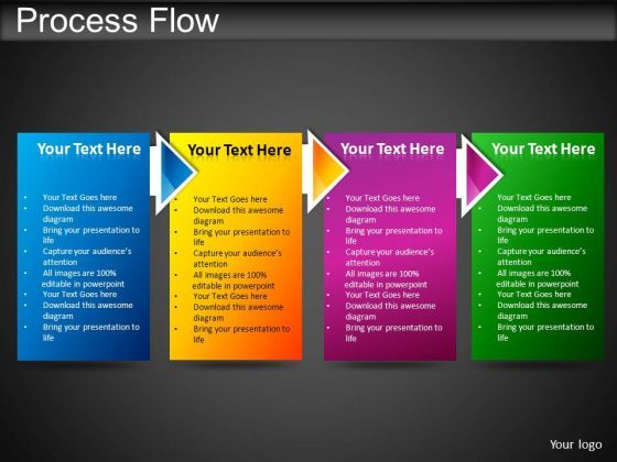 Powerpoint Templates Business Process Flow Ppt D Business
