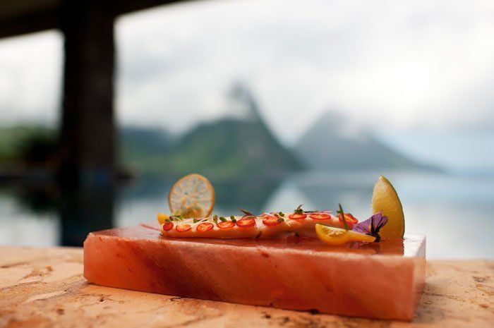 22. Jade Cuisine at Jade Mountain (Soufriere, St. Lucia) from 35 Best Caribbean Restaurants for a Late-Season Getaway