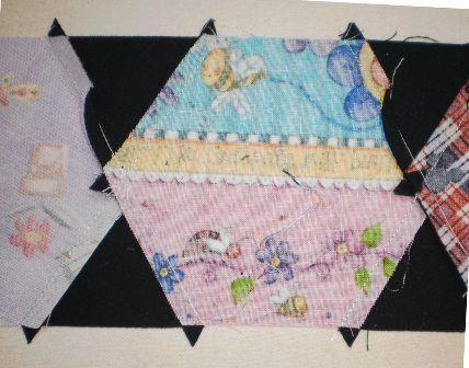 Quilt, Knit, Run, Sew: I Spy Quilt - Hexagons - Sewing Tips and ... : quilt knit run sew - Adamdwight.com