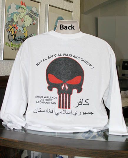 7d825b87c US Navy Seals Punisher Long Sleeve T-Shirt Naval Special Warfare Group 2  USA New #GildanUltraOrSimilar #GraphicTee