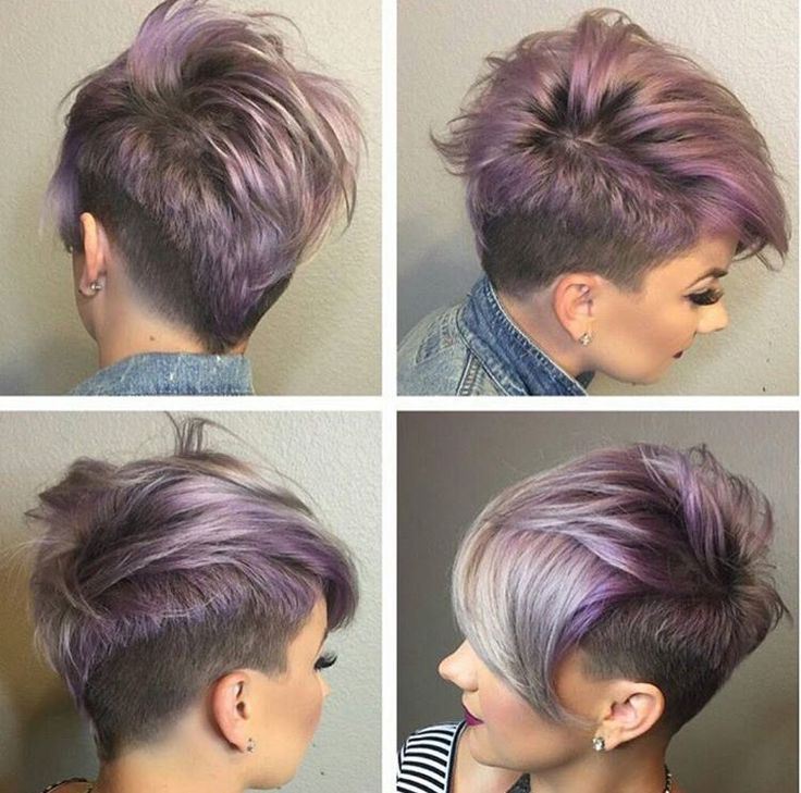 Coloring Ideas For Short Hair : Womens short haircuts with shaved sides google search my style