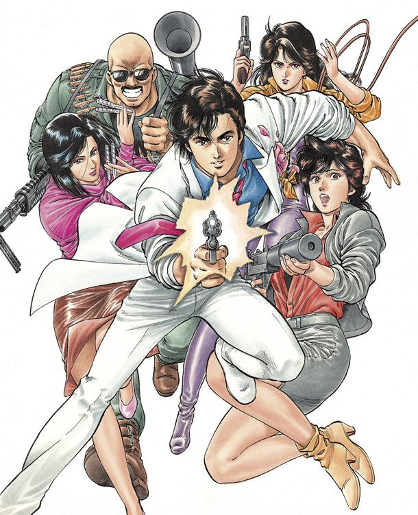 El Manga City Hunter tendrá adaptación a película live ...