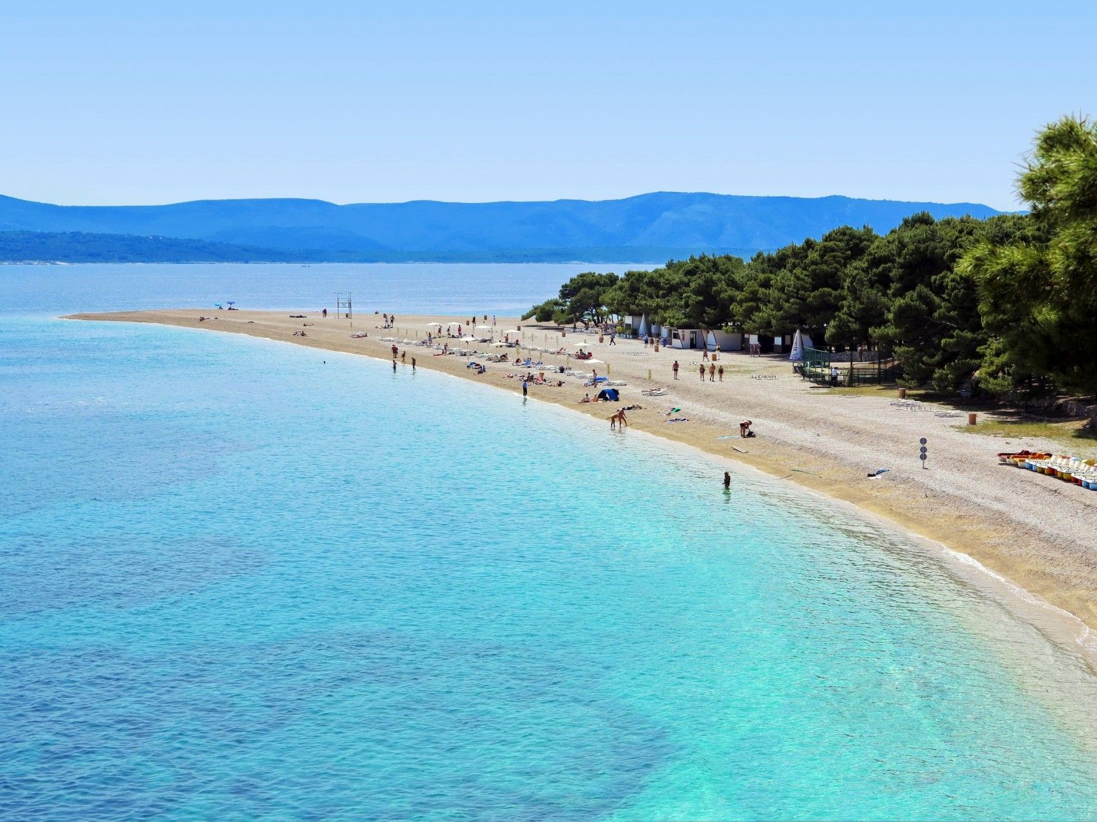Split Croatia Beaches Croatia Split Beaches Split