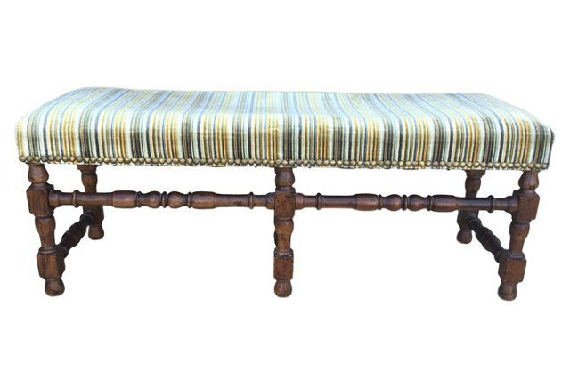 Fine Henredon Bench English Bench Vanity Bench Furniture Inzonedesignstudio Interior Chair Design Inzonedesignstudiocom