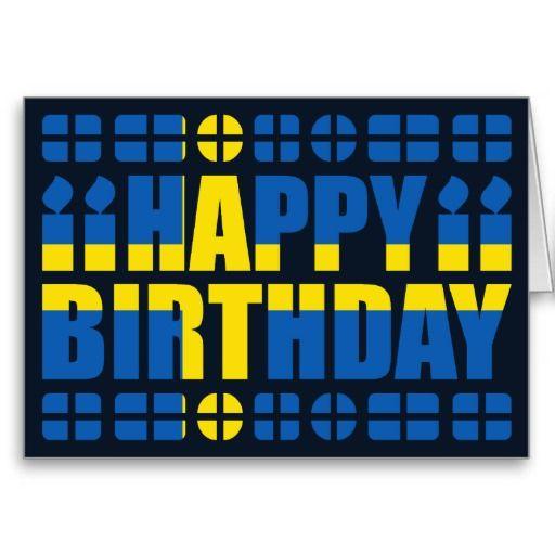 Happy Birthday Sweden Affiches Cinmatographiques Pinterest