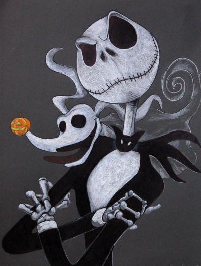 Risultati Immagini Per Immagini Jack Skeletron Illustrazioni