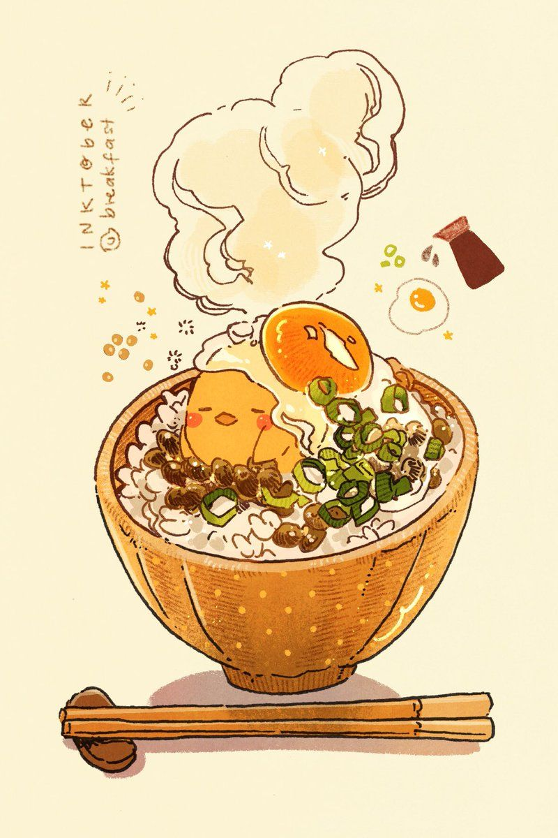 Twitter With Images Cute Food Drawings Daily Painting Cute