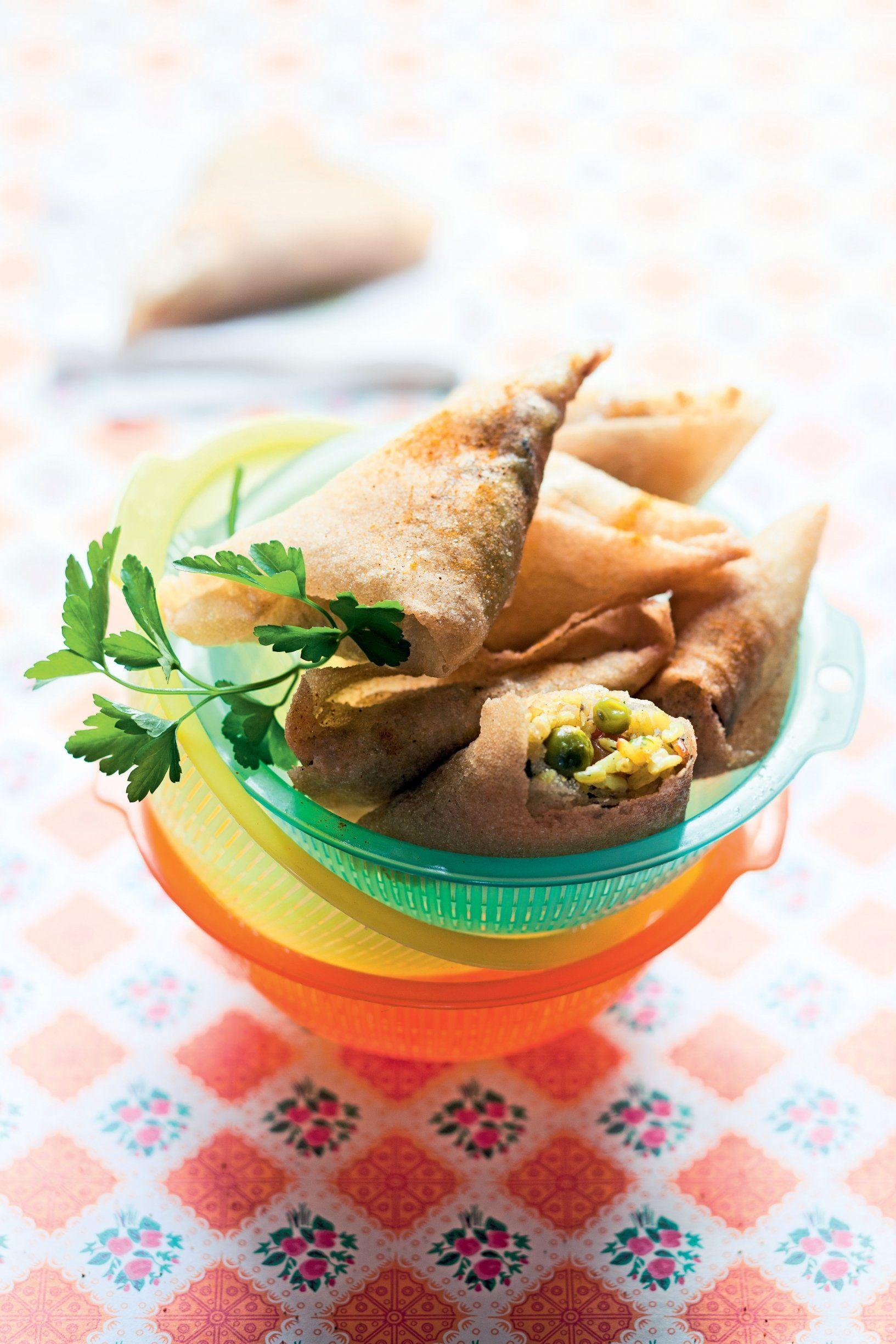 Samoussas végétariens | Recettes de cuisine, Recette ...